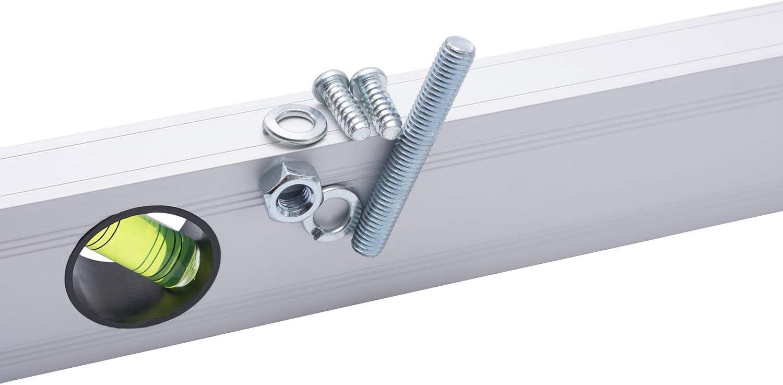 Metric Rulers Convy GJ-0165 Level 28 cm Aluminum Alloy Magnetic Torpedo Level Plumb//Level// 45/°