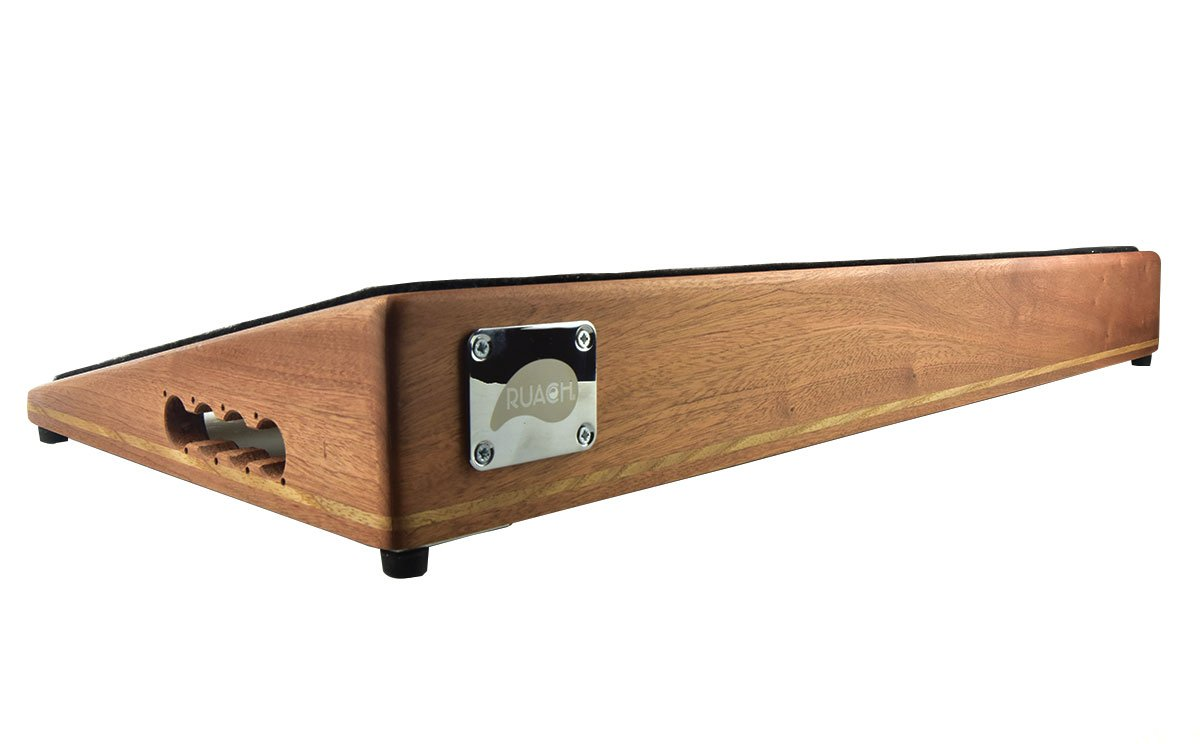 Ruach Foxy Lady 4 Extra Large Hardwood Pedalboard for Guitar Effects Pedals Ruach Music RP-FOX4