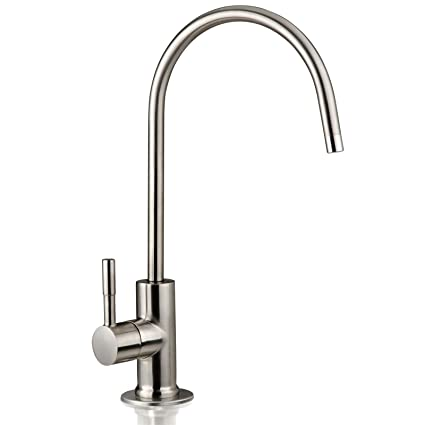 d58f3b36c26 iSpring GA1-BN Heavy Duty Non-Air Gap Drinking Faucet for Water ...