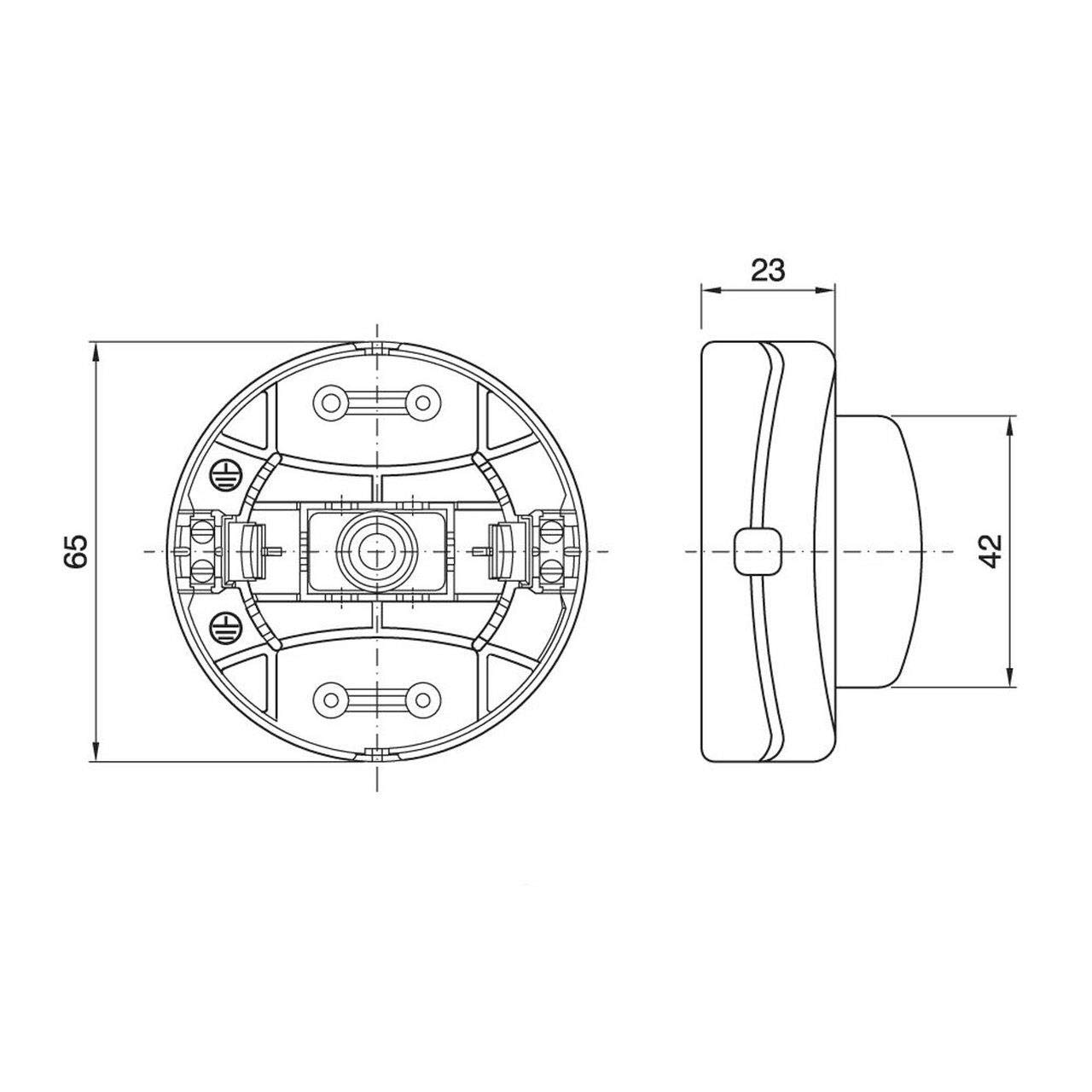 Espejo retrovisor izquierdo S-TEC 8153VQ C4 Picasso