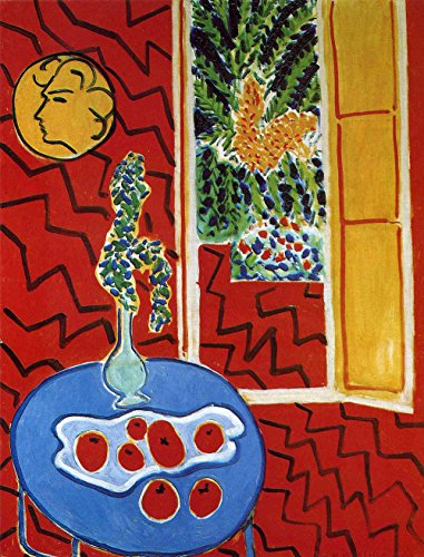 henri-matisse-red-interior-still-life-on-a-blue-table-size-24x32-inch-poster-art-print-wall-dcor