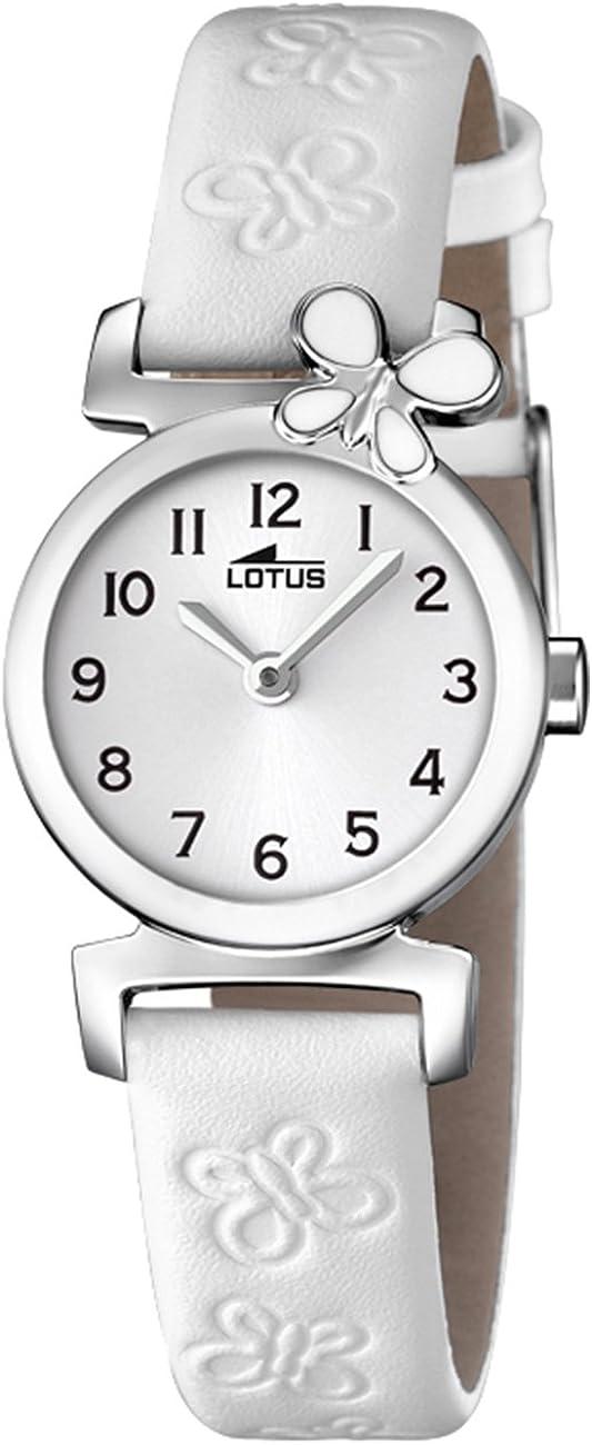 Lotus Reloj Analógico para Niñas de Cuarzo con Correa en Cuero 15948/1