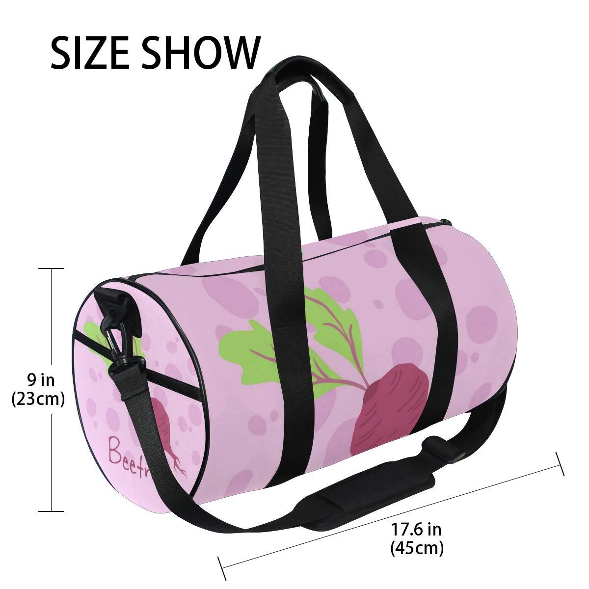 Waterproof Non-Slip Wearable Crossbody Bag fitness bag Shoulder Bag Big Beetroot