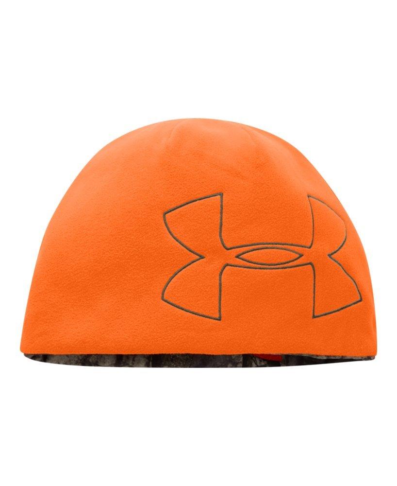 hunter orange under armour hat