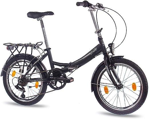 50.8 cm pulgadas bicicleta plegable bicicleta CHRISSON FOLDO con{6 ...