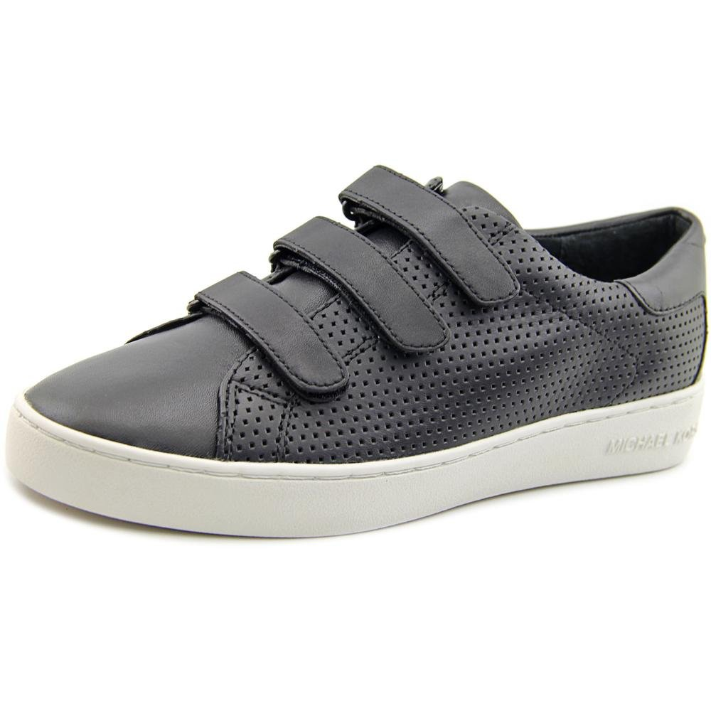 MICHAEL Michael Kors Women's Craig Sneaker Black Vachetta Perforated/Suprema Nappa Sport Sneaker 9 M