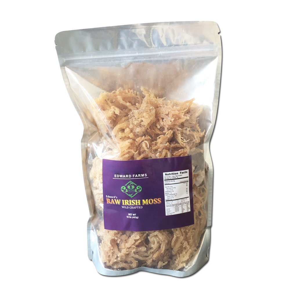 Irish Moss, Sea Moss Wildcrafted 16 oz