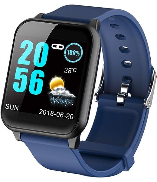 Reloj Inteligente Conectado, Control de frecuencia cardíaca con ...
