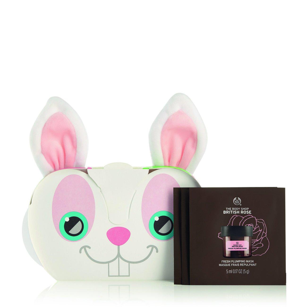 The Body Shop Expert Facial Masks Sampler Set, 9pc Set of Single-Use 100% Vegan Mask Packettes