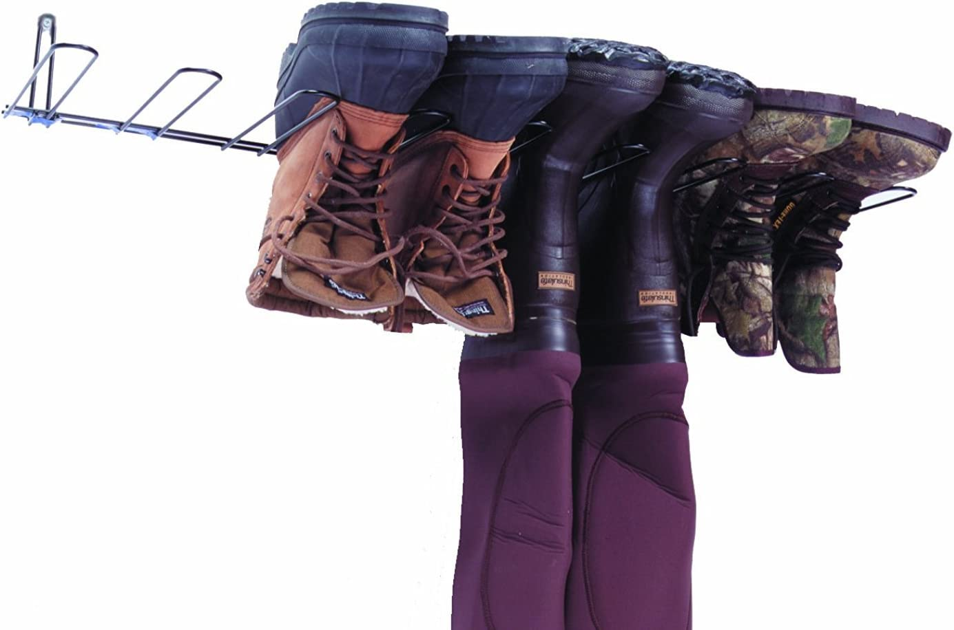 Rack'Em 4 Pair Boot Rack & Wader Hanger: Sports & Outdoors