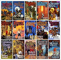 Amazon com: The Wheel of Time, 15 Book Set: New Spring, Eye