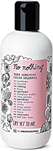 No Nothing Very Sensitive Color Shampoo - 100% Vegan, Hypoallergenic, Fragrance Free, Paraben Free – 10.15 oz