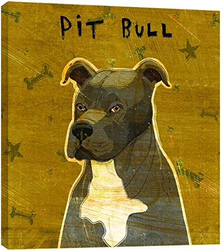 Tree-Free Greetings 84015 Eco Art Wall Plaque, 11.25 by 11.25 by 0.5-Inch, Gray Pit Bull