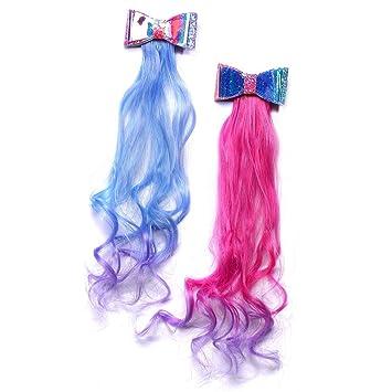 Mermaid Girls Glitter Hair Bow