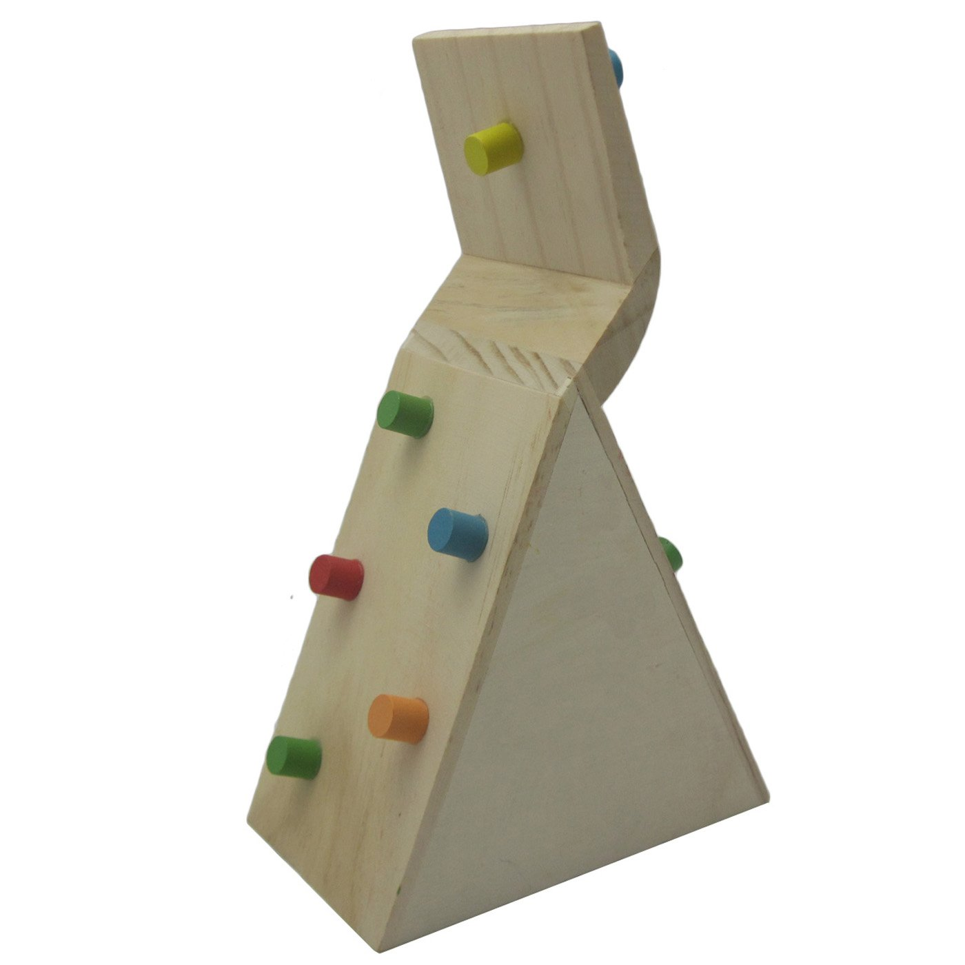 Alfie Pet by Petoga Couture - Small Animal Playground - Jami Wooden Climbing Hideout Toy for Small Animals like Dwarf Hamster and Mouse by Alfie (Image #3)