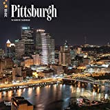 Pittsburgh 2018 12 x 12 Inch Monthly Square Wall Calendar, USA United State of America Pennsylvania Northeast City