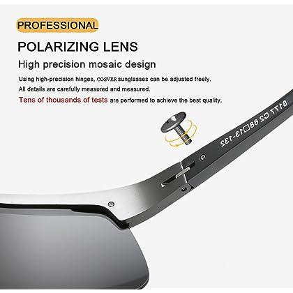 0e4e36a0915 COSVER Men s Sports Style Polarized Sunglasses for Men Driving ...