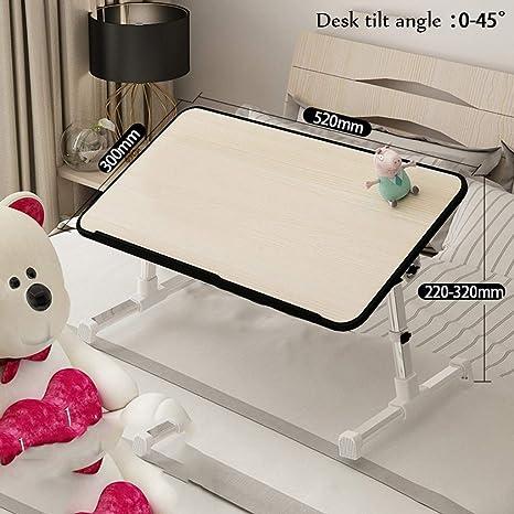 Amazon.com: Mesa plegable ajustable para portátil, mesa de ...