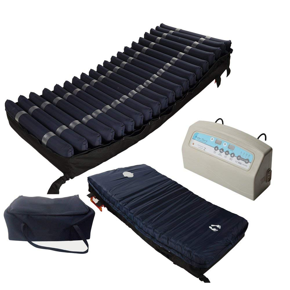 Amazon.com: Medical MedAir Low Air Loss Mattress Replacement System with Alarm, 8