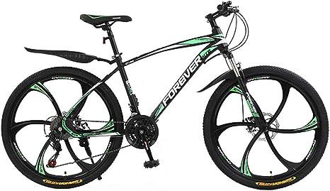 AISHFP Bicicleta de montaña para Adultos de 24 Pulgadas, Bicicleta ...