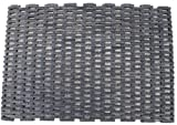 Durable Dura-Rug Recycled Fabric Tire-Link Outdoor Entrance Mat, 24' x 36'
