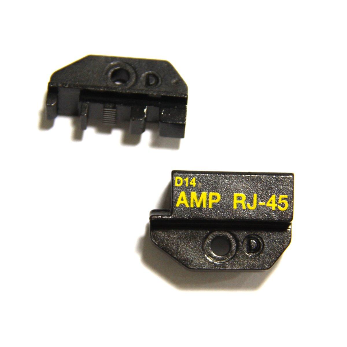 1PK-3003D14 Molde de Alicate para AMP 8P/RJ45 Red Modular Plugs: Amazon.es: Bricolaje y herramientas