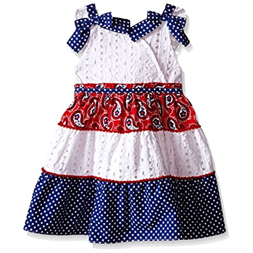 Red White And Blue Dresses For Girls Amazon Com