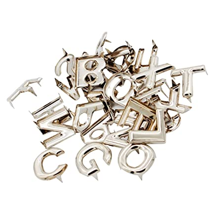 P Prettyia 26Pcs Lettere Inglesi A-Z Claw Nails Punk Rivetti Stud Scarpe  Borse Accessori  Amazon.it  Casa e cucina d73667e5f2e