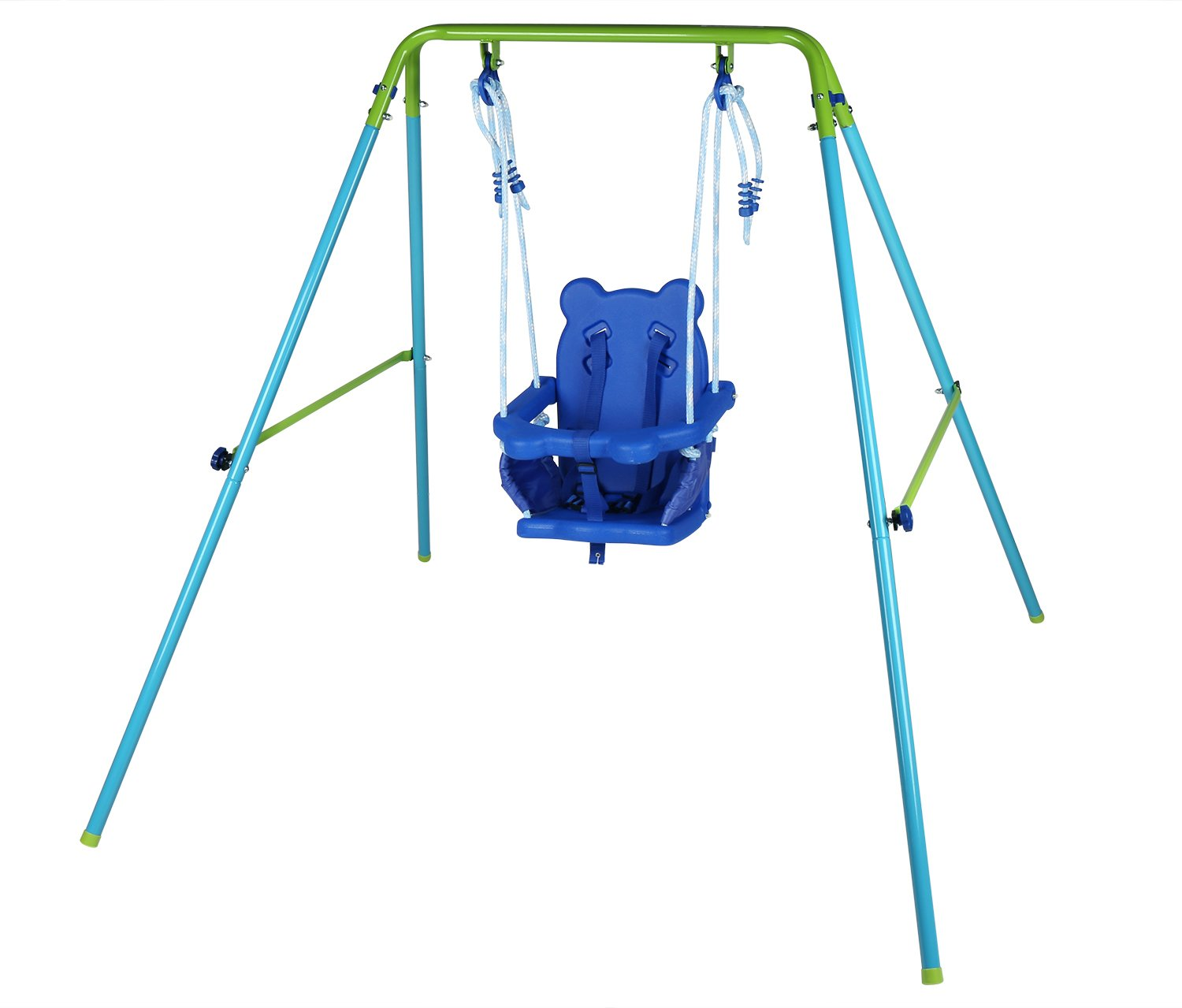 HLC Folding Toddler Baby Swing Safety Chair Seat Playground Accessory Outdoor and Indoor