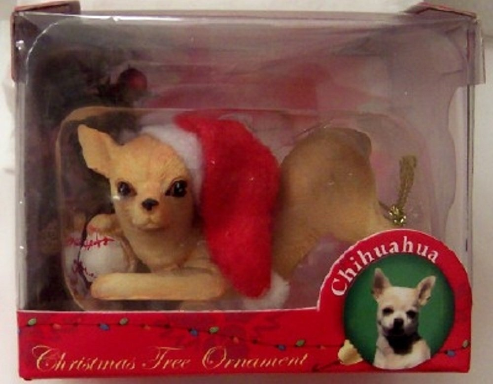 Chihuahua-Dog-Figure-Christmas-Ornament