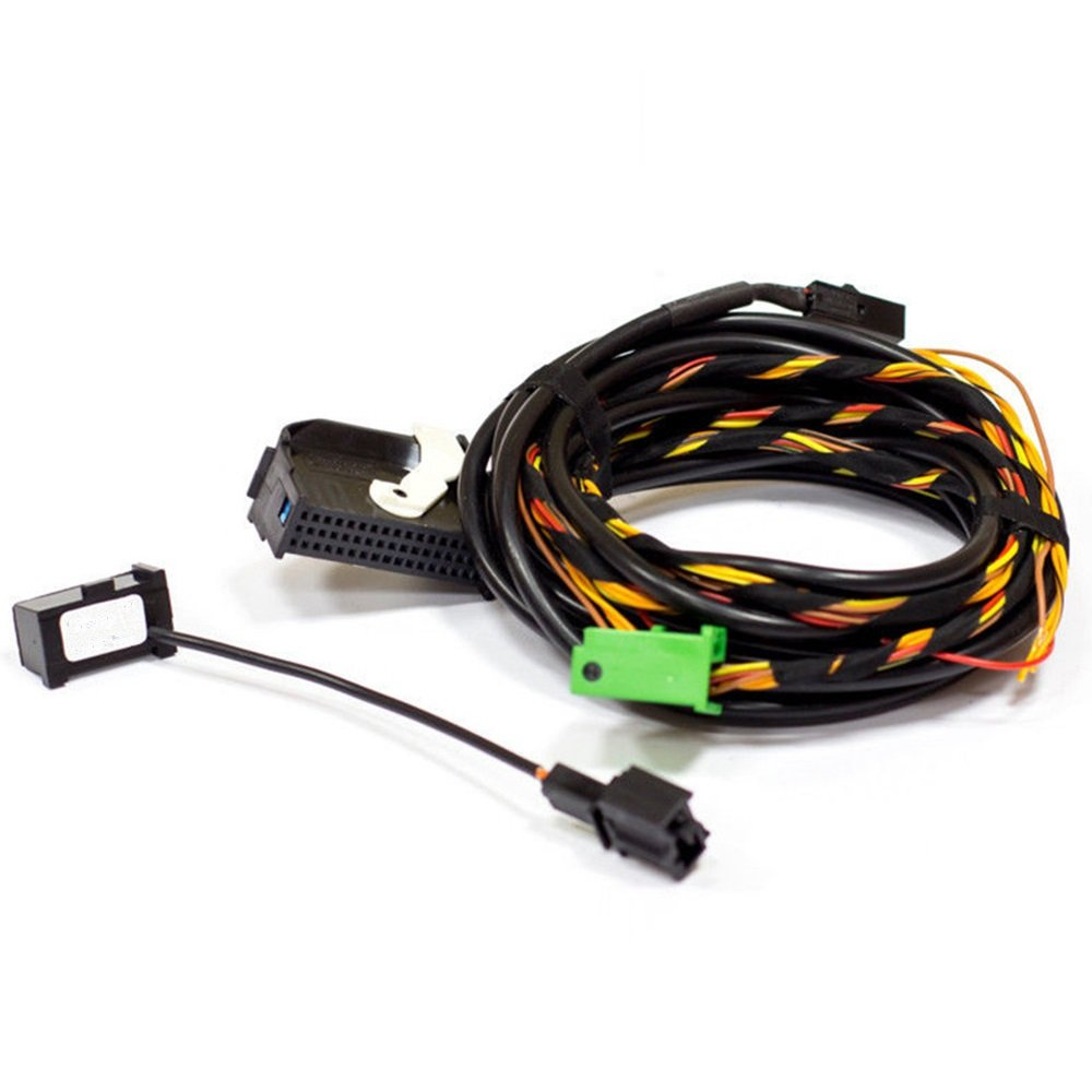 61YGwaoycUL._SL1000_ amazon com bocid 9w2 9w7 bluetooth wiring harness cable for vw  at gsmportal.co