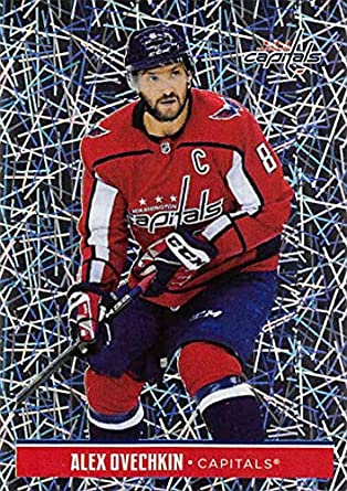 3ce8f89cb099a8 2018-19 Panini NHL Stickers #252 Alex Ovechkin Washington Capitals FOIL  Hockey Card