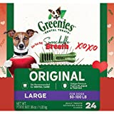 Greenies Original Large Dog Dental Chews – 36 Ounces 24 Treats For Sale