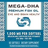 Nature's Way Mega-DHA, 1000mg, 60 Softgels