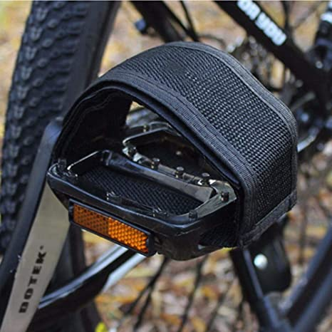 Outdoors Sports Double Anti-slip Bike Pedal Toe Clip Straps Belt Adhesive Strap
