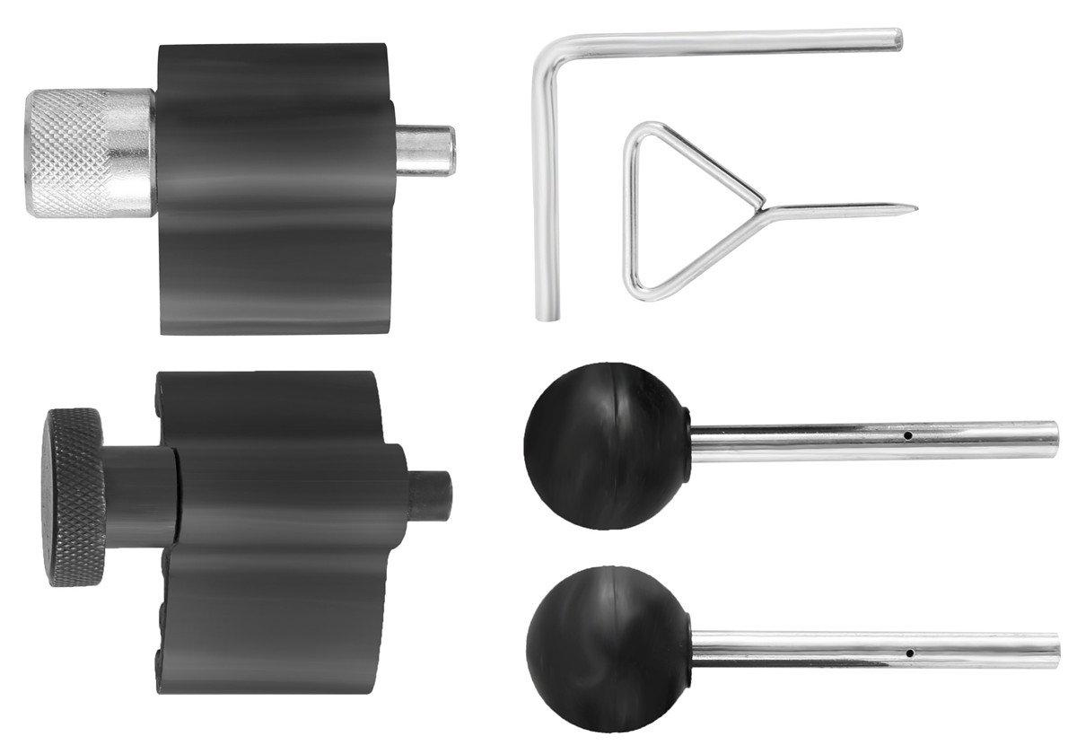 SPTTOOLS Diesel Engine Timing Crank Locking Tool Set For VW AUDI T10050 T10100