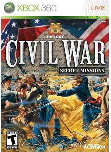 History Channel Civil War: Secret Missions - Xbox 360     - Amazon com