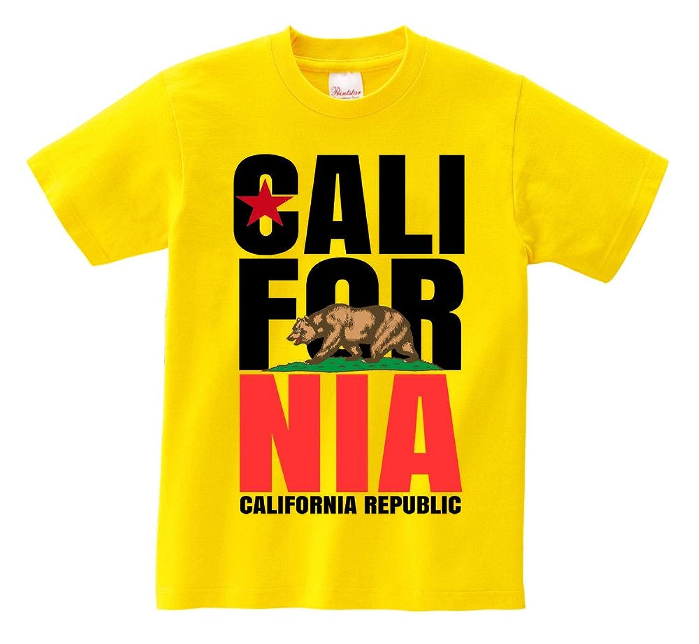 Short Sleeve T-Shirt - California Republic Yellow XXX-Large