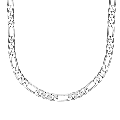 616598389141 Shining Jewel Made In Italy Silver Chain For Men  Amazon.in  Jewellery