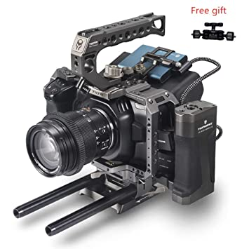 TILTA BMPCC - Caja de cámara para cámara de Cine de Bolsillo 4K TA ...