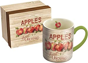 Lang Apple Orchard Mug by Susan Winget, 14 oz, Multicolored