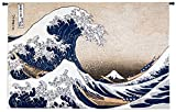 Fine Art Tapestries ''Great Wave at Kanagawa'' Wall Tapestry