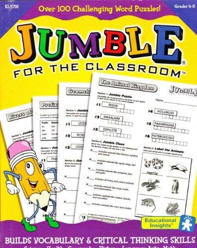 Jumble for the Classroom Grades 4-6 Text fb2 book