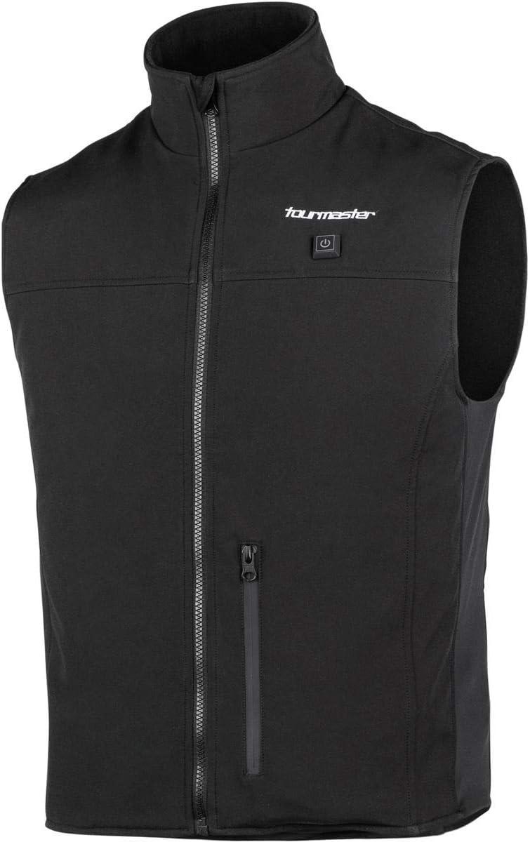 Tourmaster Synergy Pro-Plus Heated Vest (Large/X-Large) (Black): Automotive