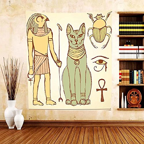 Mysterious Creative And Powerful Egyptian Wall Decor
