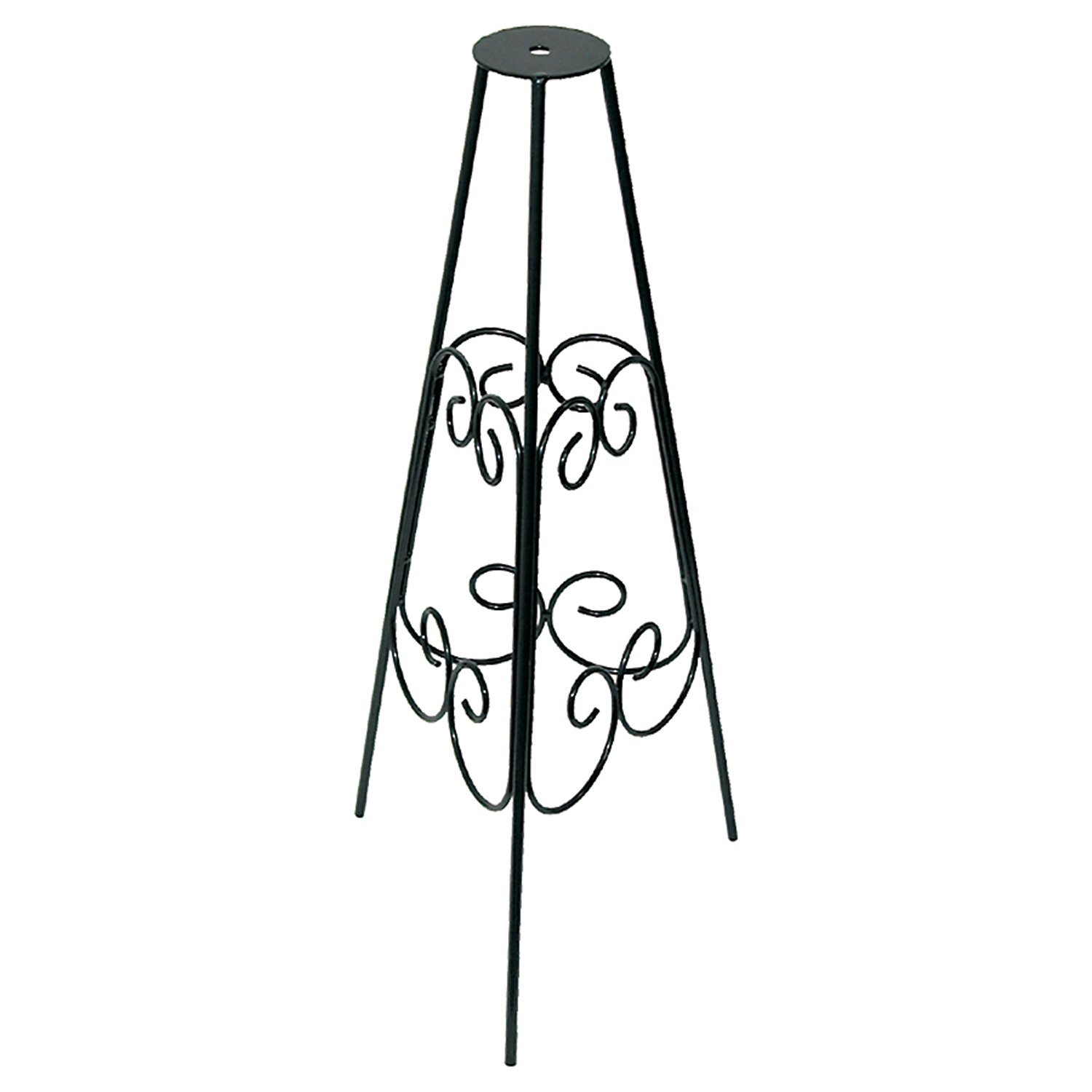 stunning Sundial Pedestal Base Part - 18: Amazon.com : Rome B53-1 Scrolled Sundial Pedestal Bases, Powder Coated  Black Wrought Iron, 24-Inch Height : Outdoor Statues : Garden u0026 Outdoor