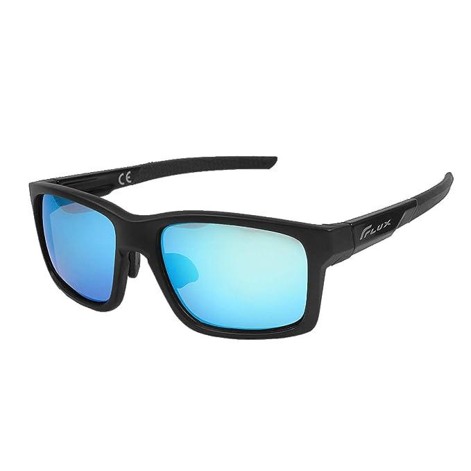 Amazon.com: Flux - Gafas de sol deportivas polarizadas ...