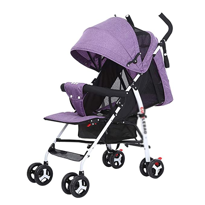 HLF- El cochecito de bebé se puede sentar reclinablemente ...