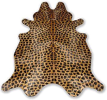 Giraffe Cowhide Rug Cow Hide Skin Leather Area Rug