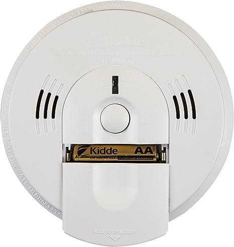 Kidde KN-COSM-IBA Hardwire Combination Smoke//Carbon Monoxide Alarm with Battery